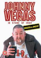 JOHNNY VEGAS 18 STONE OF IDIOT UNSEEN AND UNCUT DVD RATED 18