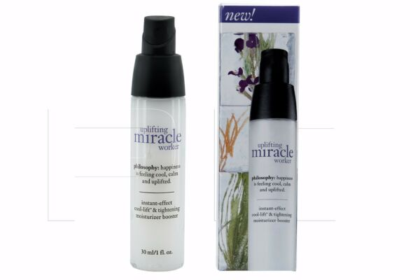 Philosophy uplifting miracle worker Cool-lift & Tightening Booster 1 OZ NIB