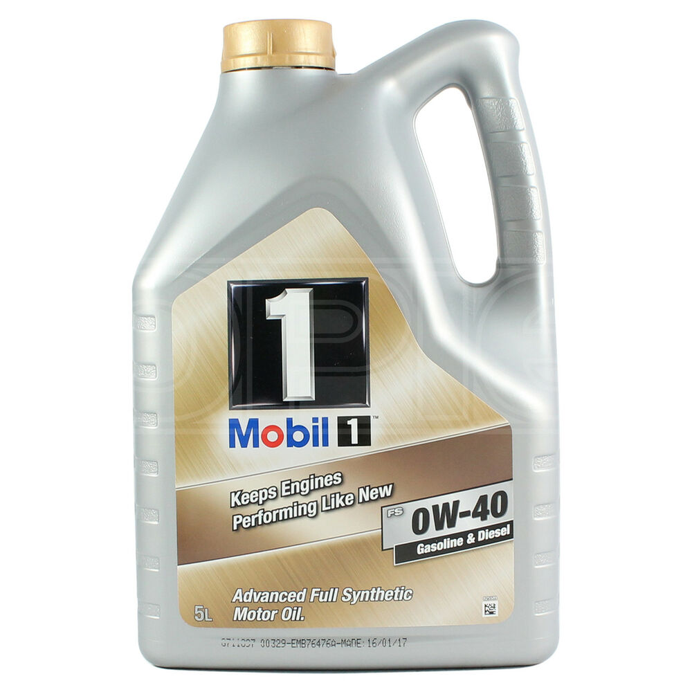 mobil 1 0w 40 fully synthetic engine oil 0w40 mobil1 5. Black Bedroom Furniture Sets. Home Design Ideas