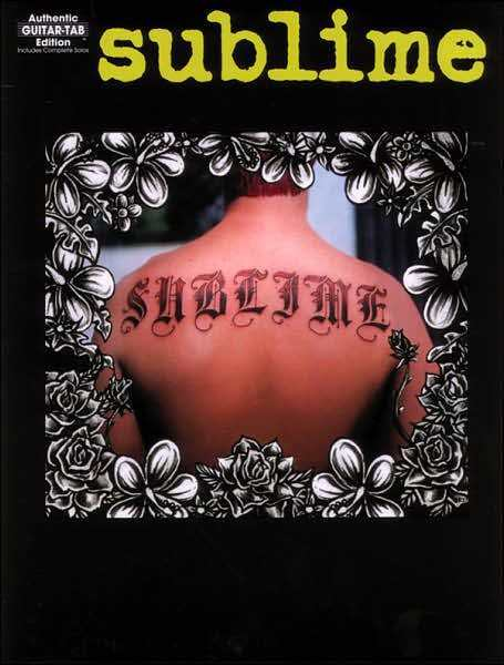 Sublime Guitar Tab Sheet Music Song Book New Ebay