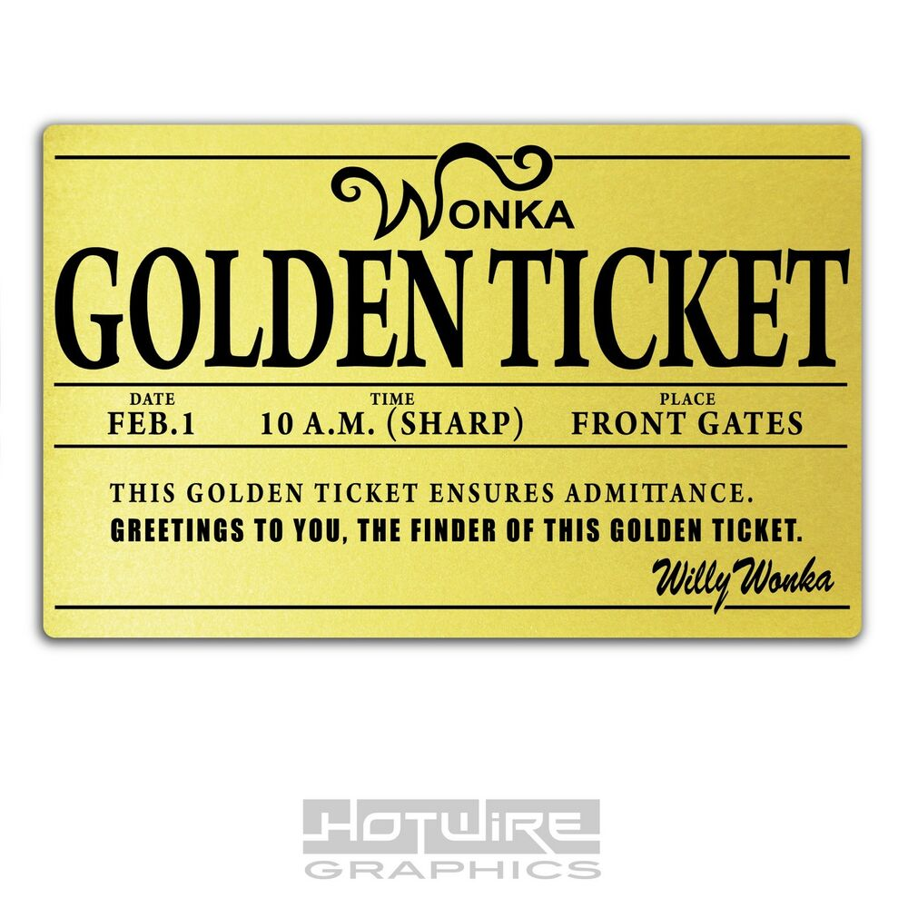 This is a graphic of Dynamite Willy Wonka Golden Ticket Printable