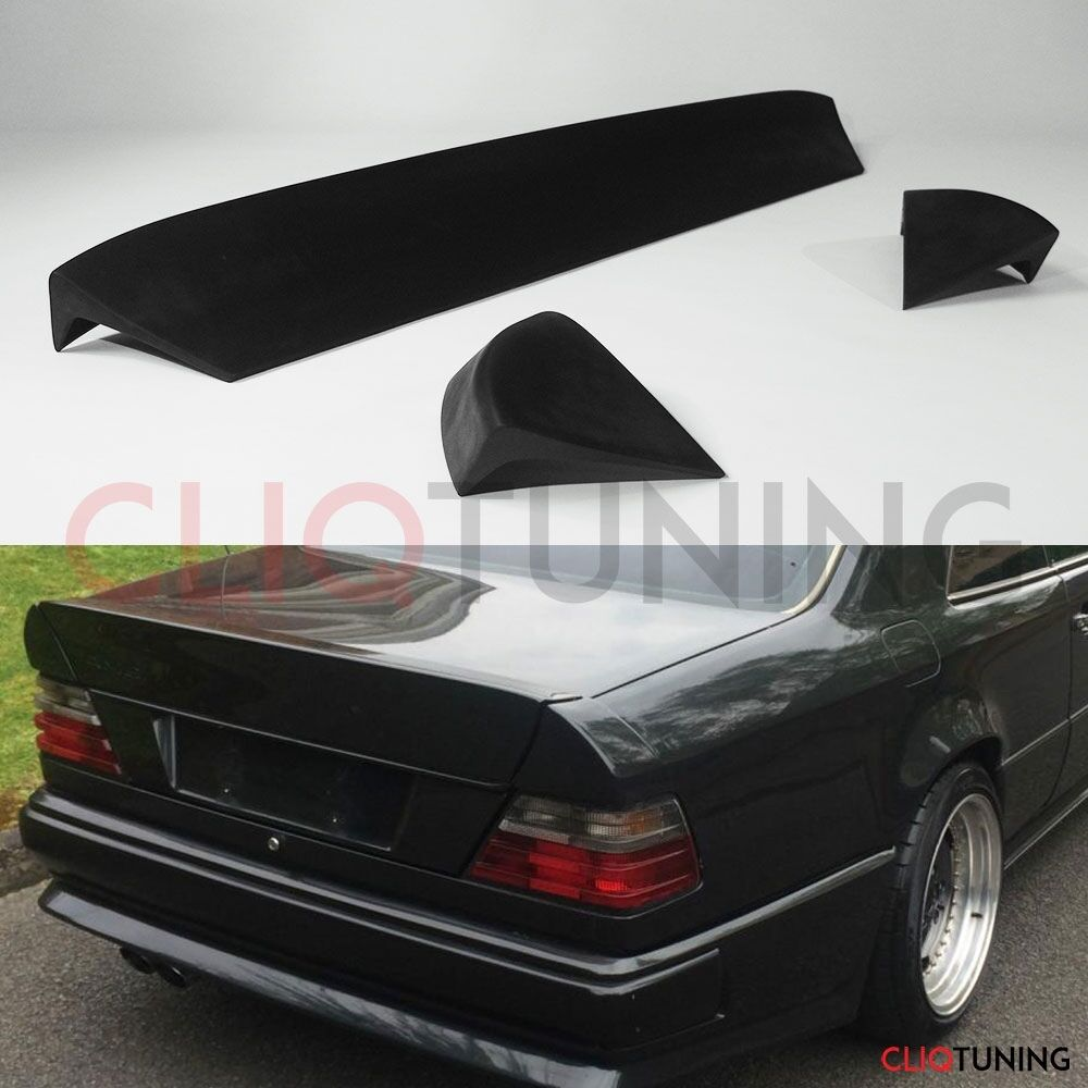 Mercedes benz w124 coupe amg style 3 piece spoiler for Mercedes benz w124 parts