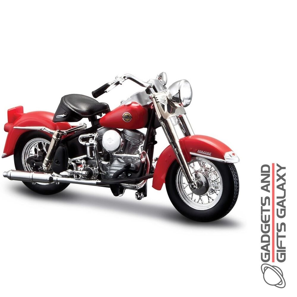 maisto harley davidson series 34 1 18 diecast model bike collectors gift toy ebay. Black Bedroom Furniture Sets. Home Design Ideas