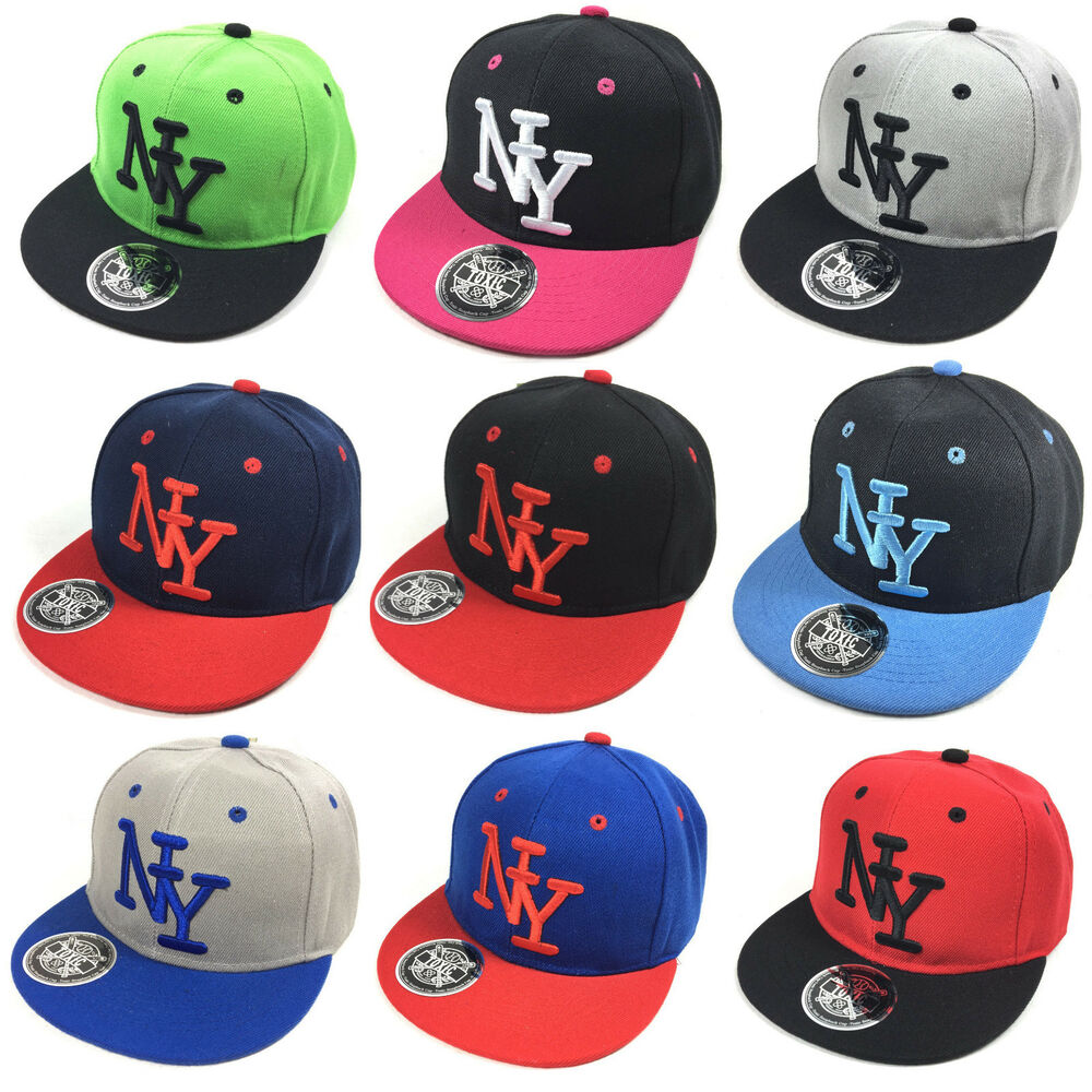 coole ny kinder snapback baseball cap toxic kappe unisex. Black Bedroom Furniture Sets. Home Design Ideas