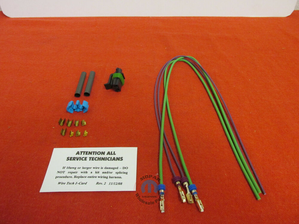 Jeep Liberty 2 8l Fuel  Water Separator Wiring Harness
