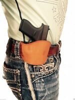 Leather Belt Gun holster For Smith & Wesson 40,9mm