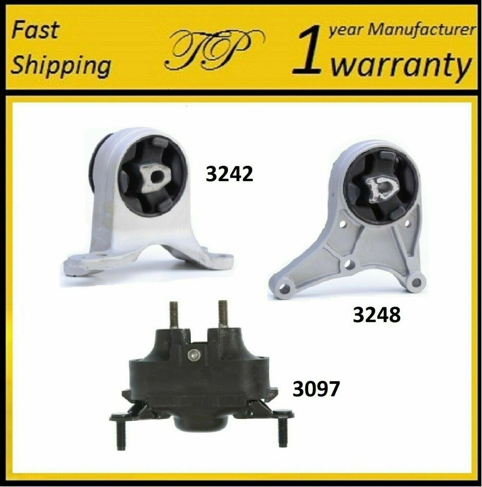 3 pcs motor trans mount for 2008 2011 chevrolet malibu. Black Bedroom Furniture Sets. Home Design Ideas