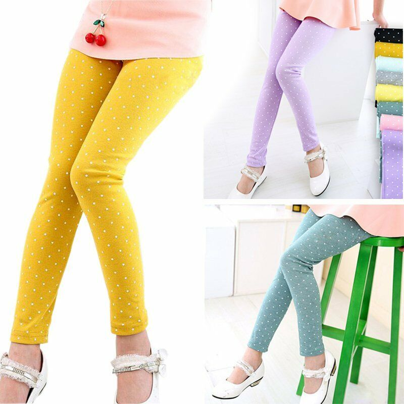 2-7Y Toddler Kids Baby Girls Tight Pants Child Stretchy ...