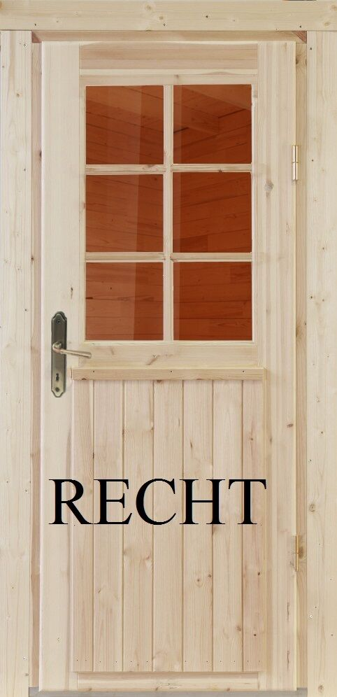 holz einbaut r t r gartenhaust r holzt r einzelt r nebeneingangst r nach ma ebay. Black Bedroom Furniture Sets. Home Design Ideas