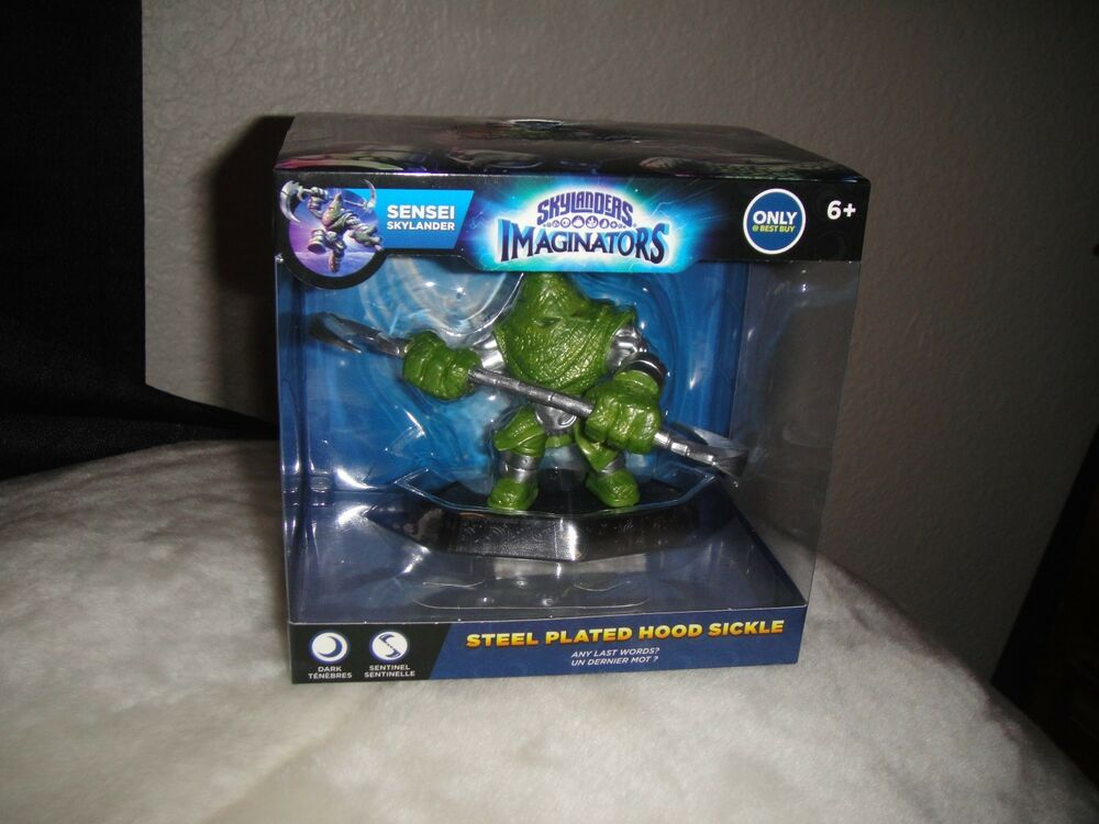 NEW SKYLANDERS IMAGINATORS STEEL PLATED HOOD SICKLE FIGURE ...