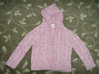 MARKS AND SPENCER - GIRLS PINK CARDIGAN - AGE 12 - 18 MONTHS