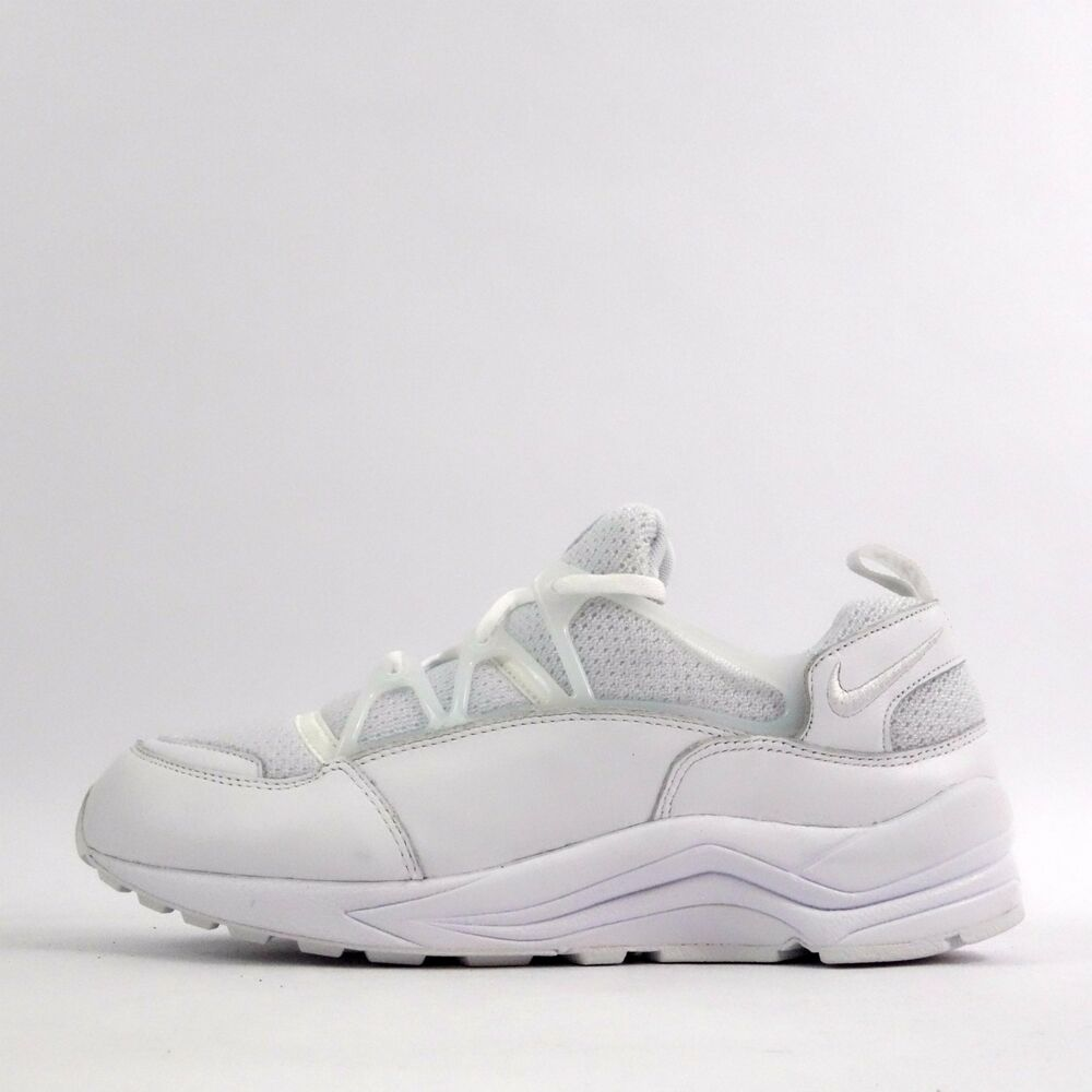 separation shoes 9830f f486a Details about Nike Air Huarache Light Mens Trainers Shoes Triple White