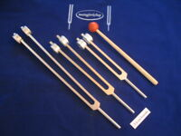 Otto Tuning forks 32,64 &128 Hz with Long 7.5 cm Handle