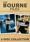 The Bourne Files: 3 Disc Collection (DVD, 2007, 3-Disc Set)