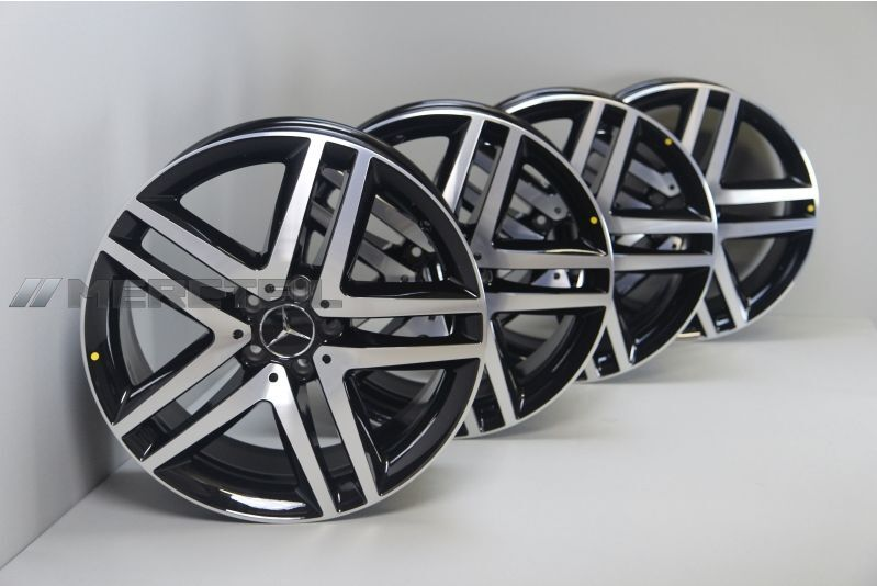 mercedes benz original wheel set r19 for v class w447 ebay. Black Bedroom Furniture Sets. Home Design Ideas