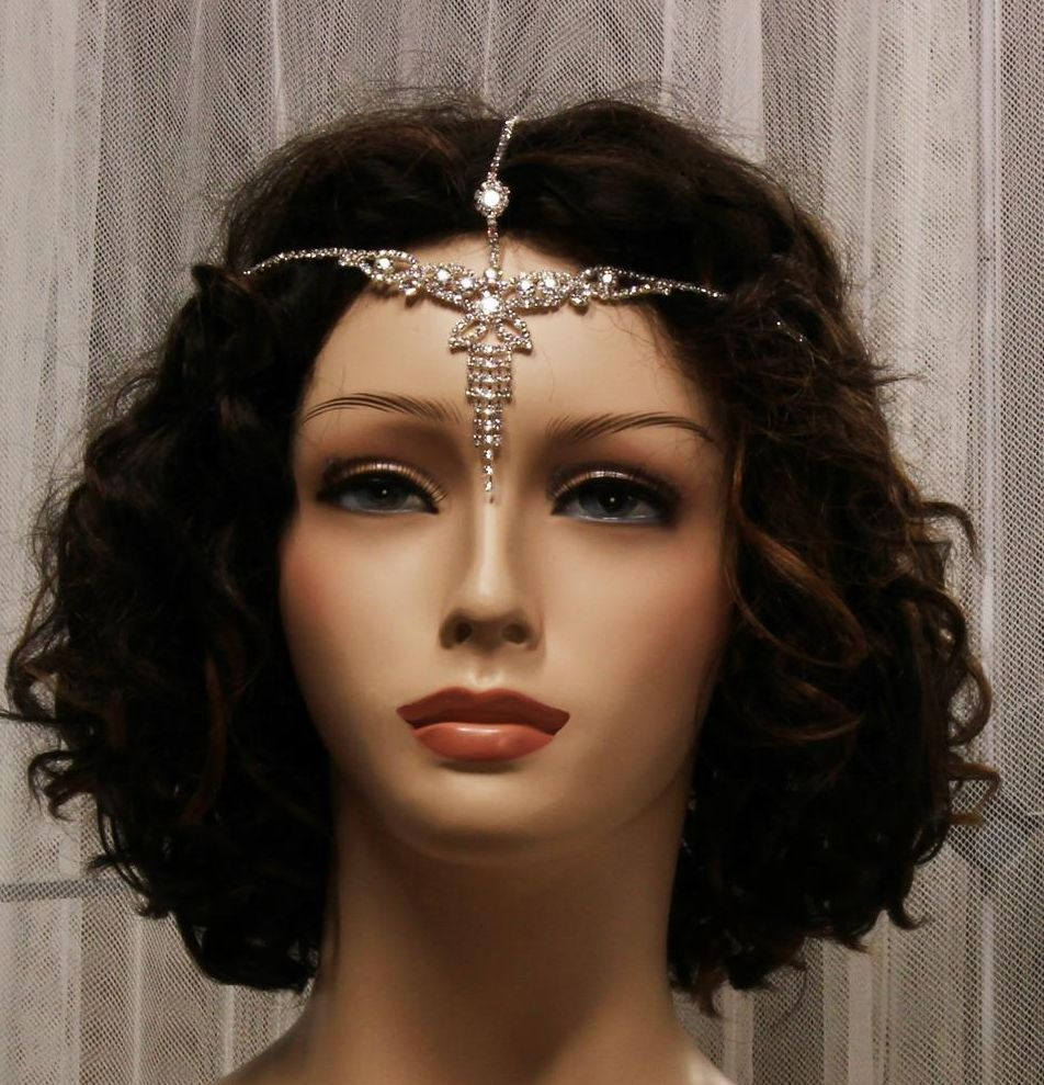 Wedding Headpieces With Forehead Jewelry
