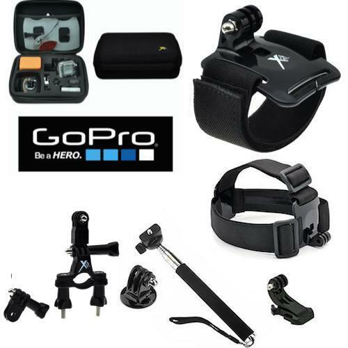 hard case for gopro hero5 motorcycle mount all u need accesories kit ebay. Black Bedroom Furniture Sets. Home Design Ideas