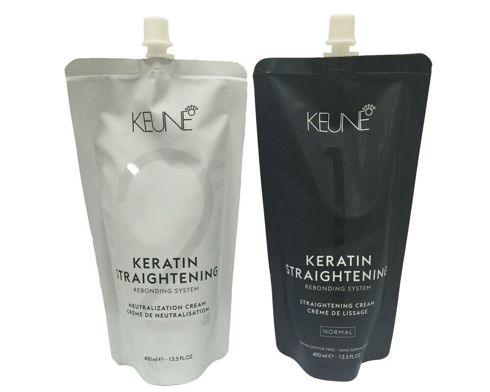 Keune Keratin Straightening Cream Rebonding System Normal