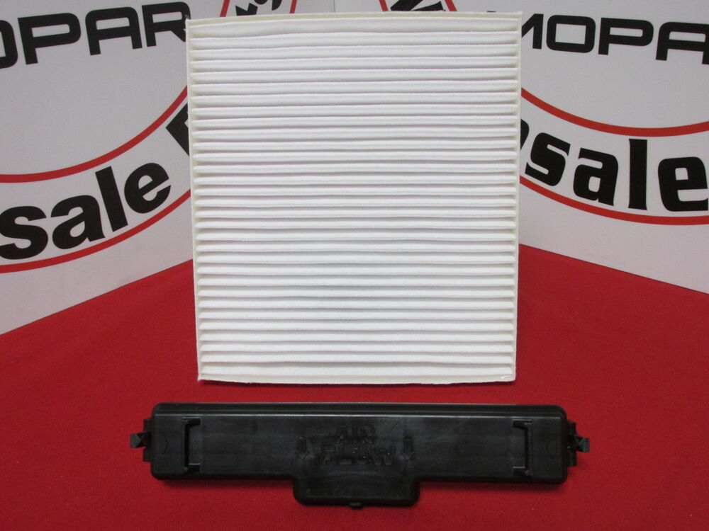 Dodge Chrysler Jeep Cabin Air Filter And Filter Access