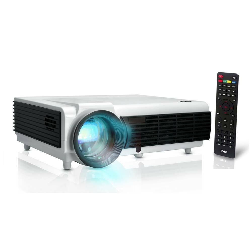 New pyle prjd903 digital multimedia projector full hd for Smallest full hd projector
