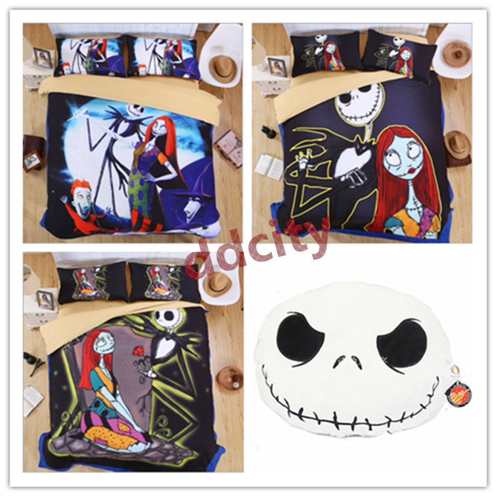 the nightmare before christmas jack duvet cover bedding set queen king