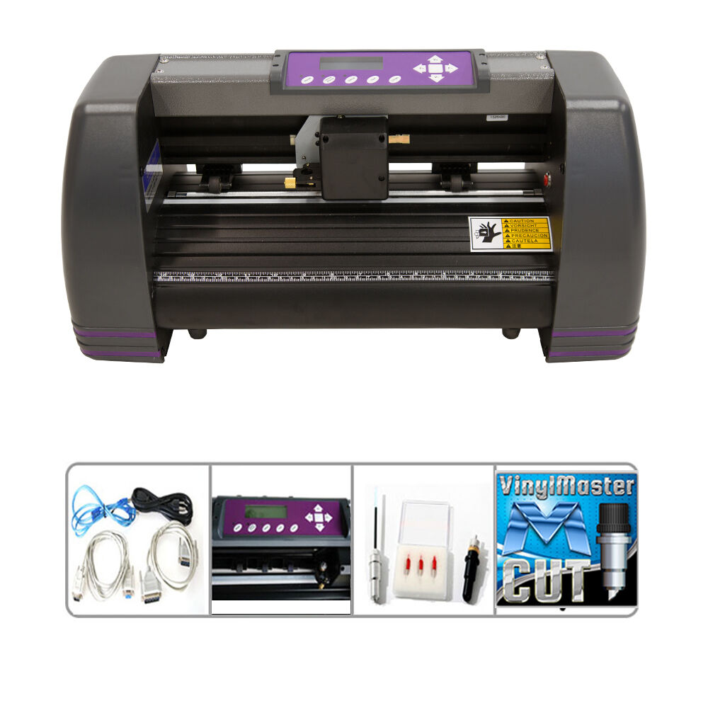 Details about new 14 digital craft vinyl cutter decal sign maker electronic cutting machine