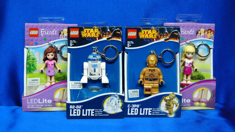 Lego Keychain Led Light C3po R2d2 Lego Keychain Stephanie Olivia Key