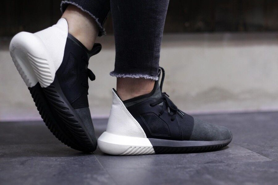 Women S Adidas Originals Tubular Defiant Casual Shoes Granite