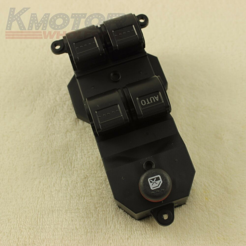 New electric power window master control door switch for for 2002 honda crv power window switch