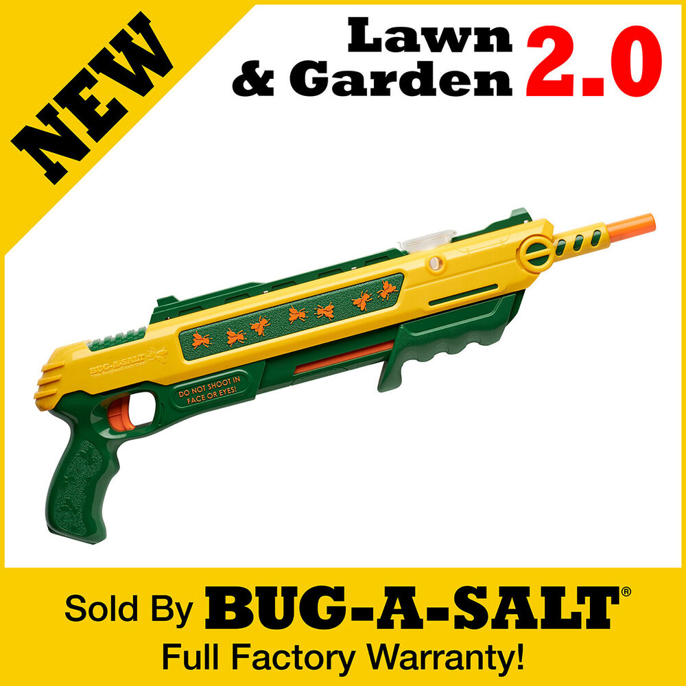 Authentic BUG A SALT LAWNampGARDEN 20 Gun Fly Swatter Insect