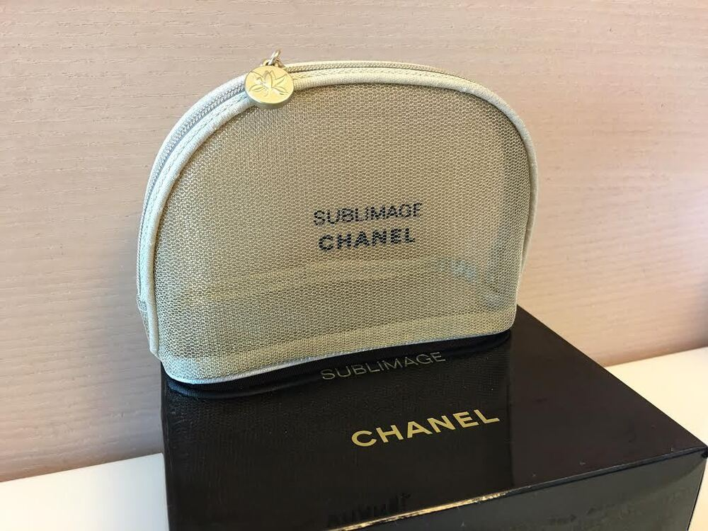 new chanel beaute makeup cosmetic bag new in box ebay