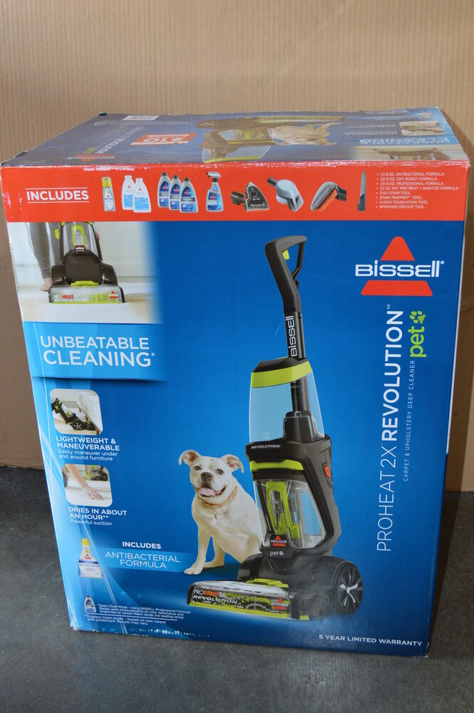 Bissell Proheat 2x Revolution 1548 Pet Carpet Uphostery