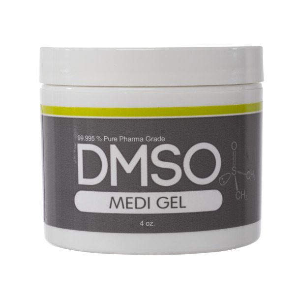 99.995% PHARMA GRADE DMSO GEL LOW ODOR 4 OZ IN BPA FREE PLASTIC FAST SHIPPING