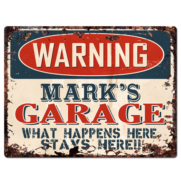 Man Cave Signs To Buy : Ppfg warning mark s garage tin chic sign man cave