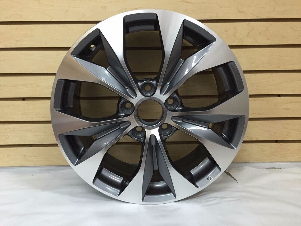 1pc 17 honda civic si accord acura alloy wheels rims for. Black Bedroom Furniture Sets. Home Design Ideas