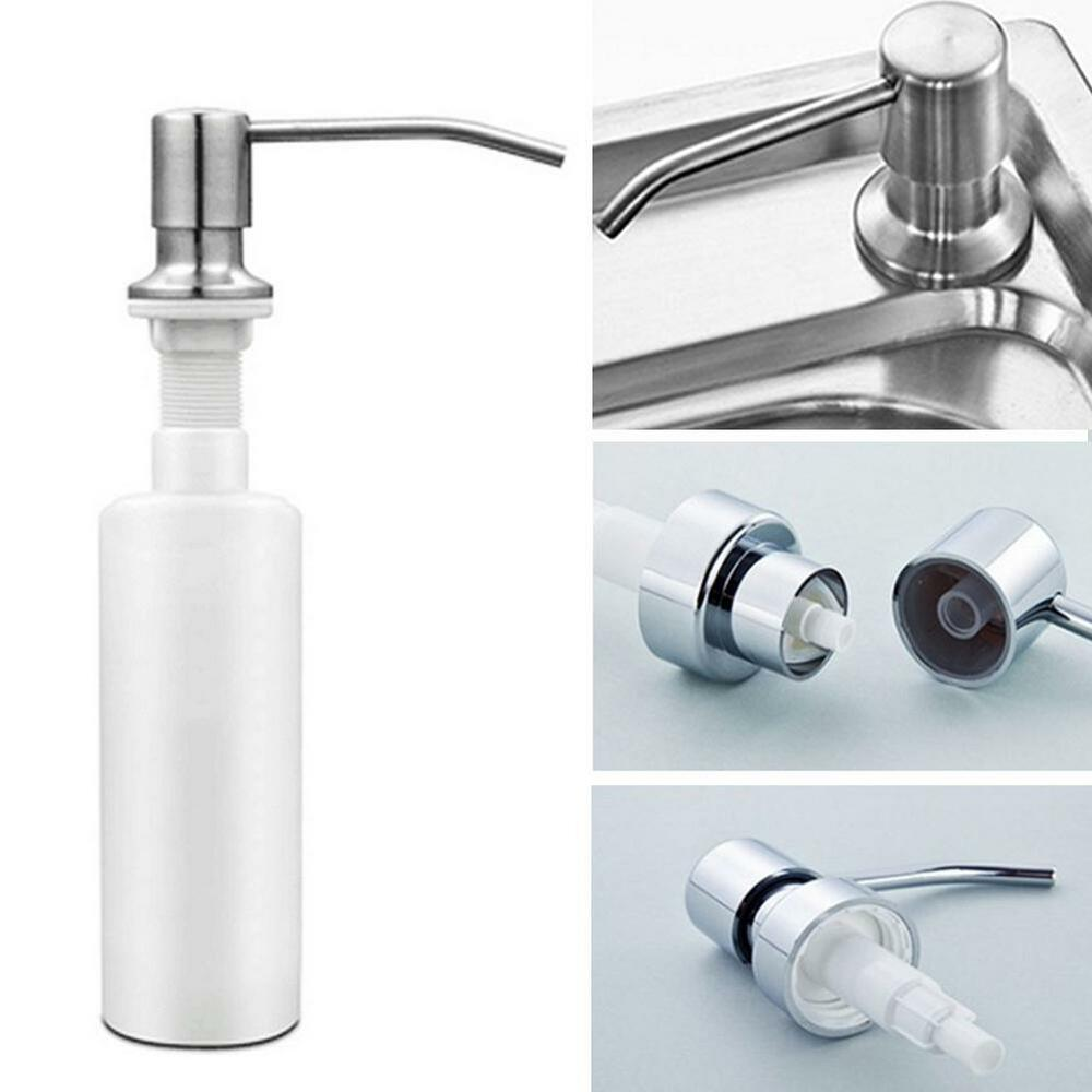 stainless steel soap dispenser kitchen sink 350ml stainless steel soap dispenser kitchen sink bath 9419