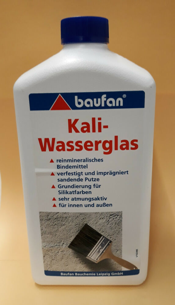 baufan kali wasserglas kaliwasserglas grundierung 1 liter ebay. Black Bedroom Furniture Sets. Home Design Ideas