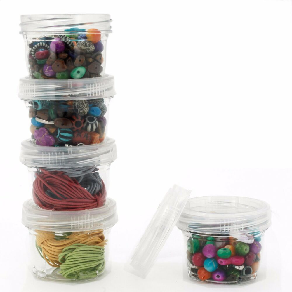 Storage Containers Stackable Interlock Detachable 5 For
