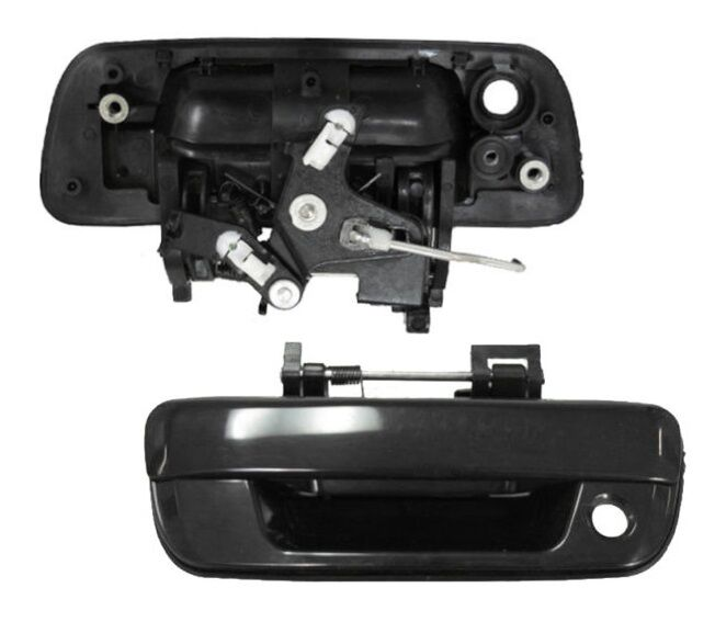 2012 Chevrolet Colorado Regular Cab Head Gasket: New Textured Black TAILGATE HANDLE For 2004 2005 2006 2007