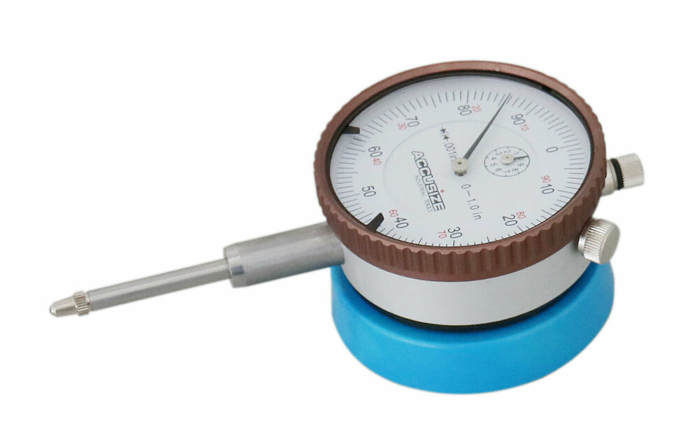 Dial Indicator Mounting In Collet : Quot magnetic back w x dial indicator direct
