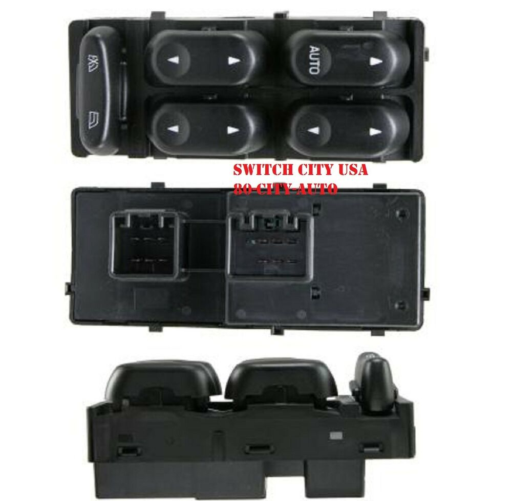Oem ford taurus sable master driver left power window for 2000 ford f150 power window switch