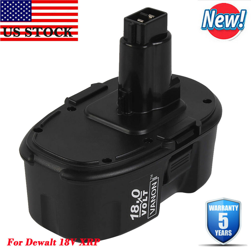 New 18v 18 volt nicd battery for dewalt dc9096 dw9095 for General motors criminal background check