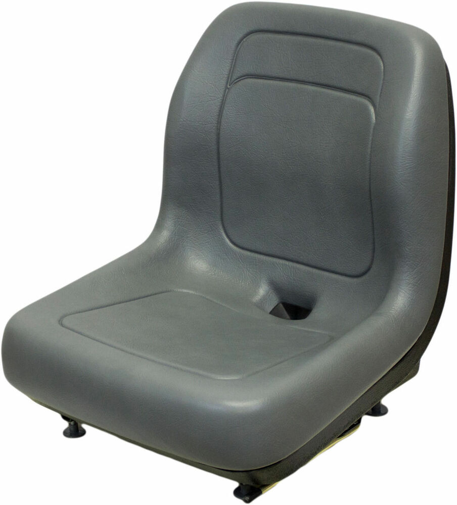 New Holland Ford Tractor Seat : Ford new holland skid steer seat gray fits ls