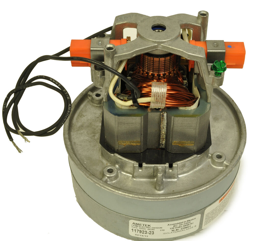 Miele canister vacuum cleaner complete motor 117923 23 ebay for Motor for vacuum cleaner