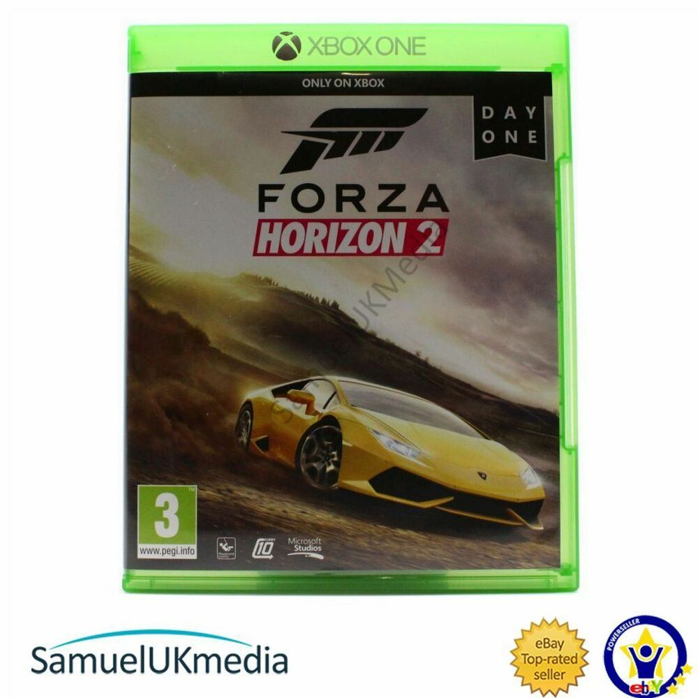 forza horizon 2 xbox one great condition ebay. Black Bedroom Furniture Sets. Home Design Ideas