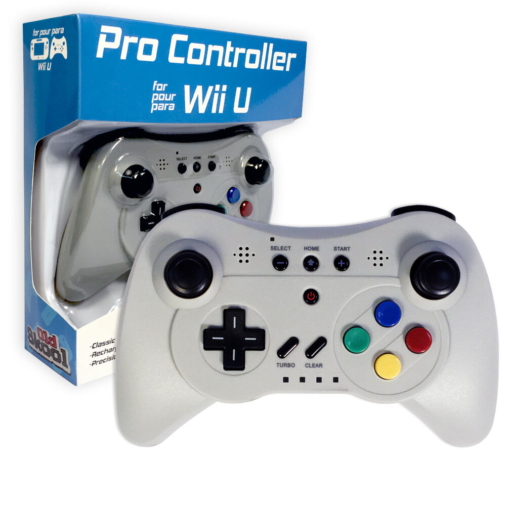 wireless pro controller game pad for nintendo wii u by old. Black Bedroom Furniture Sets. Home Design Ideas