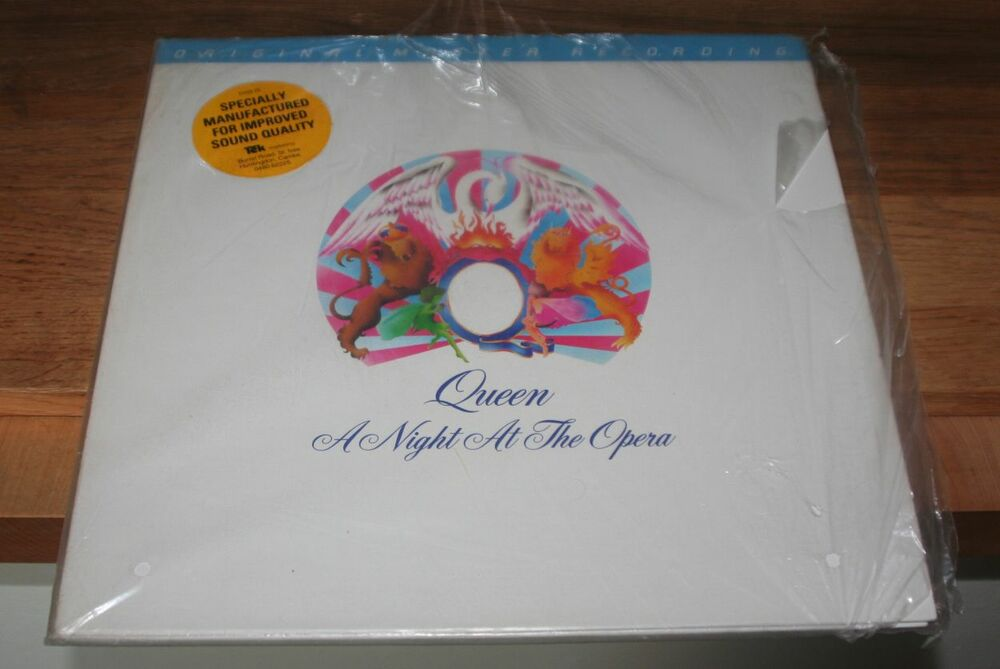 Queen A Night At The Opera Mfsl 1 067 Mobile Fidelity