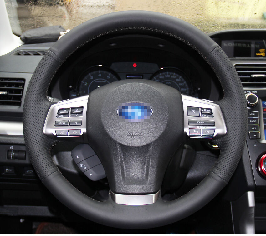 steering wheel cover for subaru impreza legacy forester. Black Bedroom Furniture Sets. Home Design Ideas