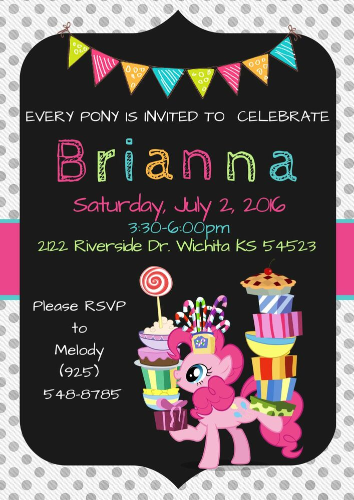 It's just a picture of Effortless My Little Pony Invitations Free Printable
