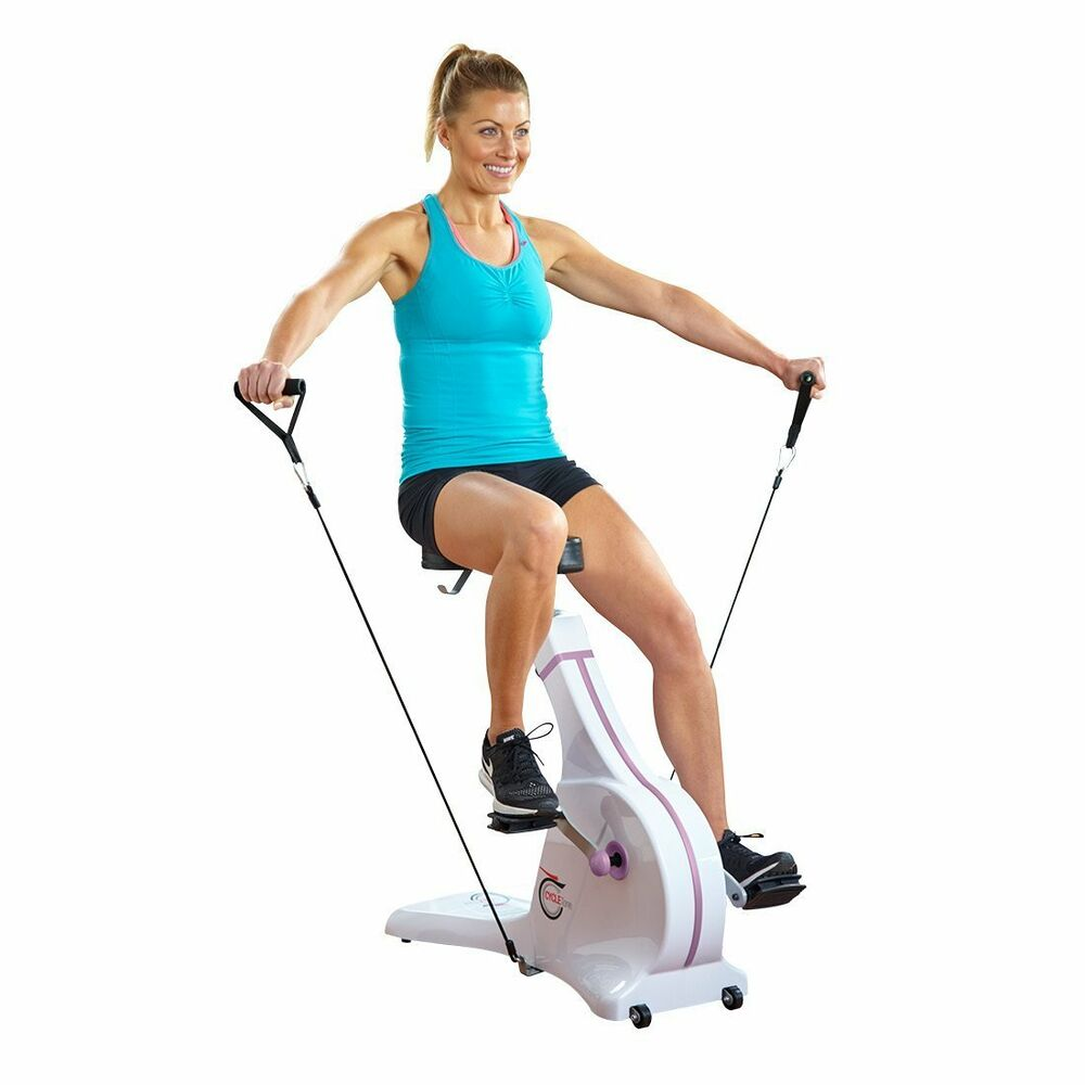 Cycle Tone Exercise Bike Amp Toning System As Seen On High